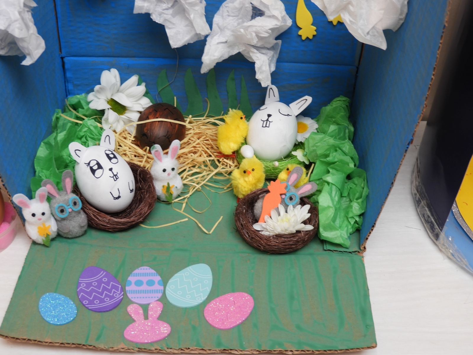 Easter egg decorating competition April 2019 – Whitfield St